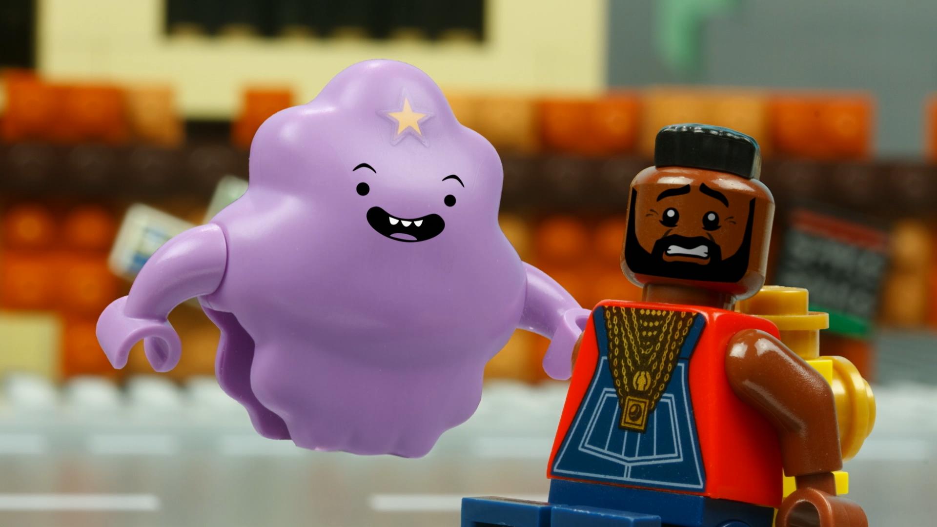 LEGO Dimensions: Lumpy Space Princess Meets B.A. Baracus