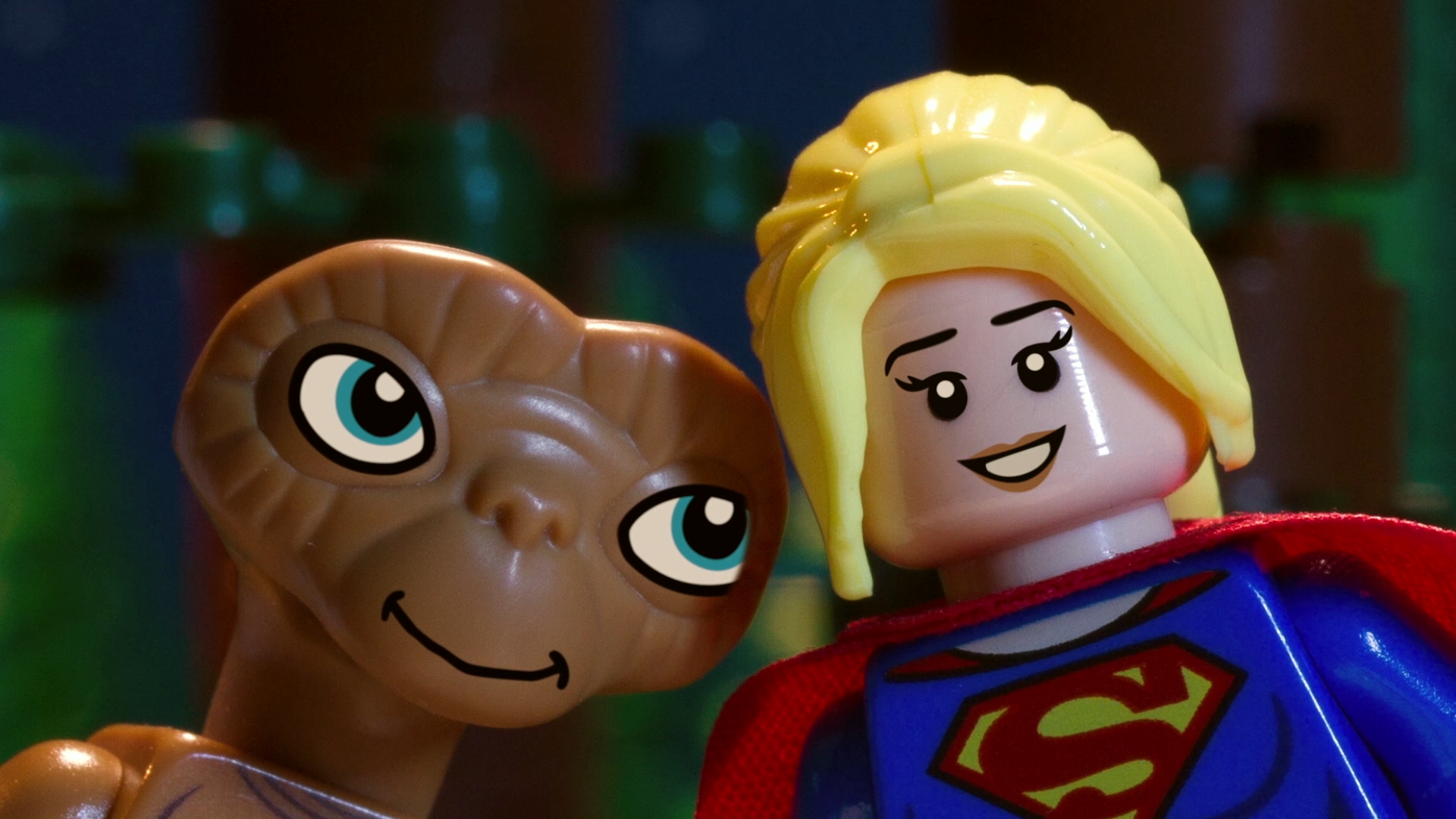 LEGO Dimensions: Supergirl Meets E.T.
