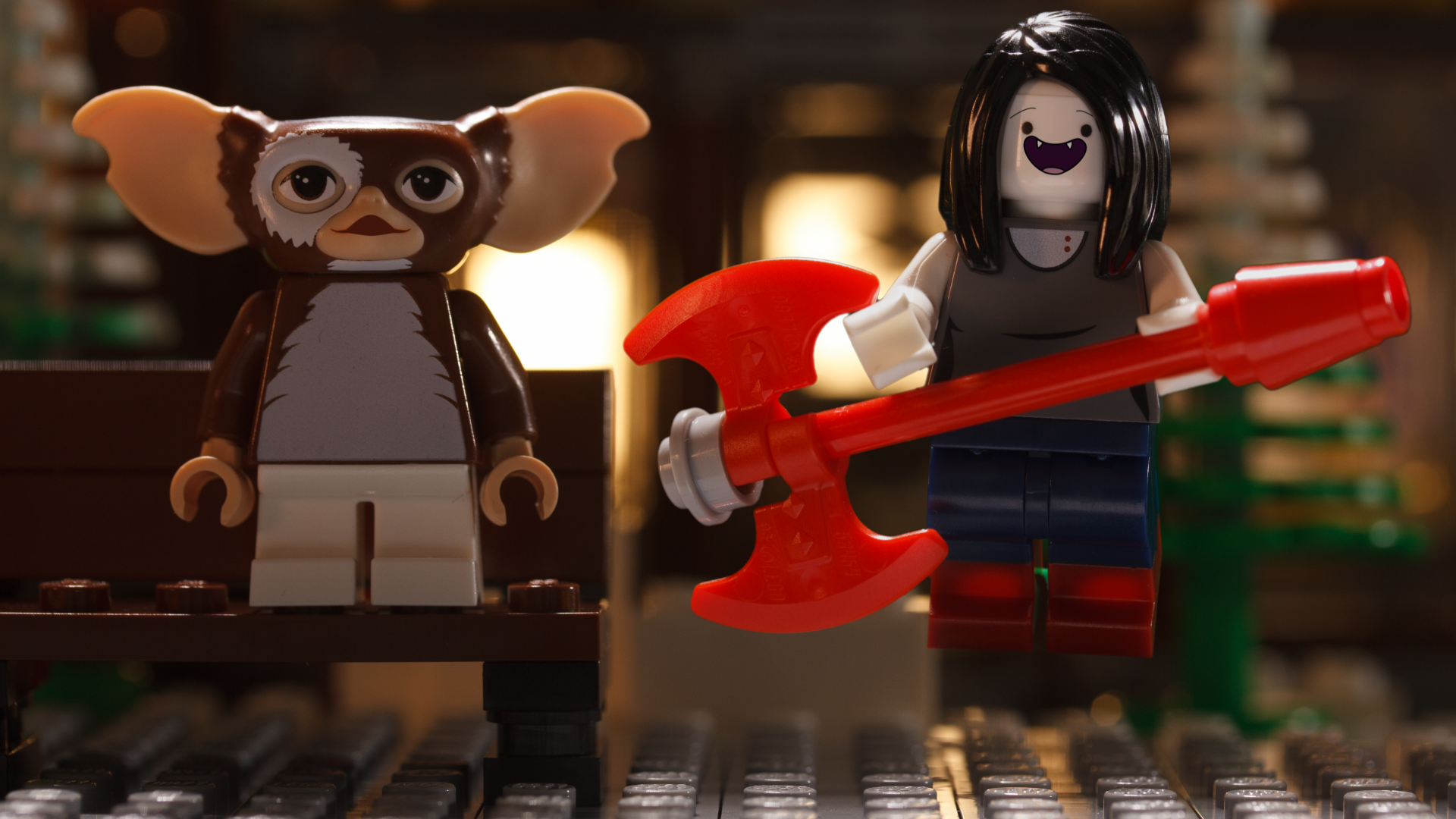 LEGO Dimensions: Marceline Meets Gizmo