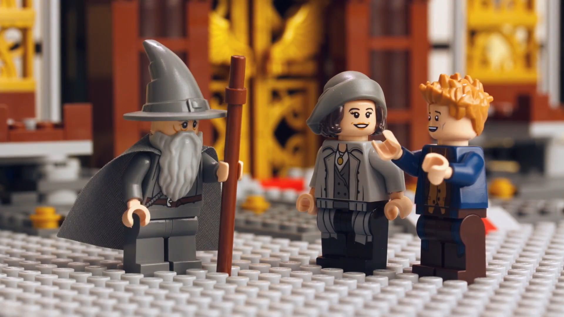LEGO Dimensions: Gandalf Meets Newt Scamander