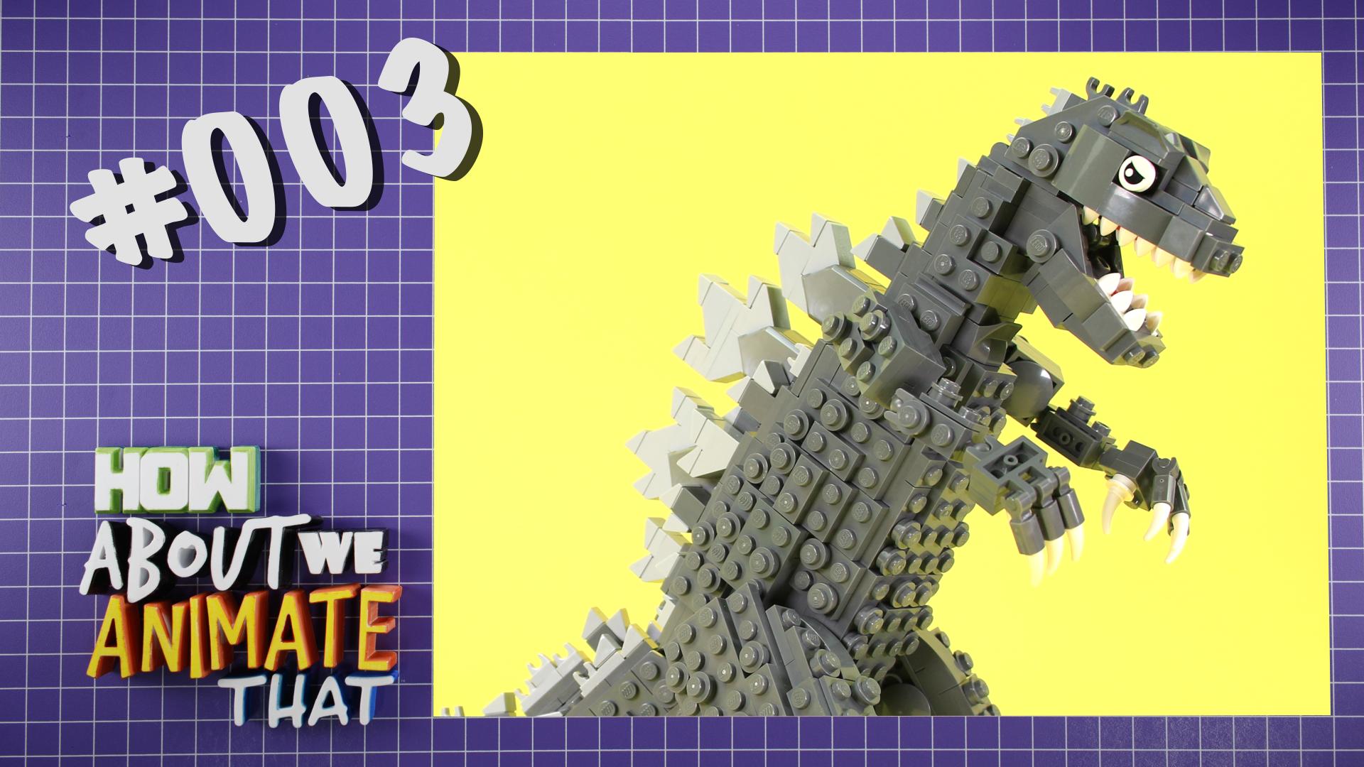 HAWAT: BRICK 101 LEGO Godzilla